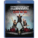 Scorpions   Live 3d Get Your Sting [blu ray] Uk Frete Grati